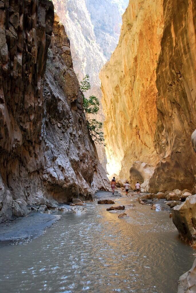 The awe-inspiring Saklikent Gorge just 25 mins drive from Kalkan, Antalya.