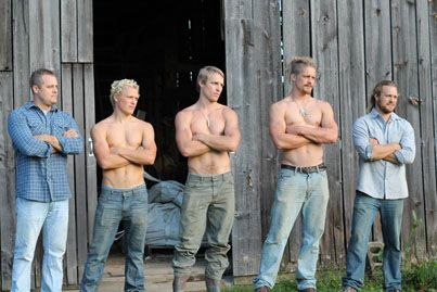 All I'm saying is Mama King made some good looking boys...#FarmKings