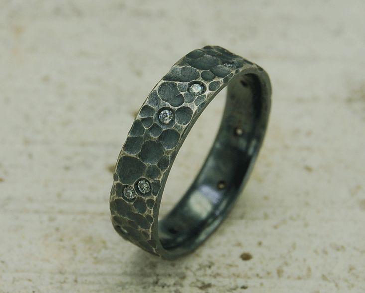 Verlobungsringe - Eheringe silber brillant, Verlobungsring silber - ein Designerstück von albanco bei DaWanda