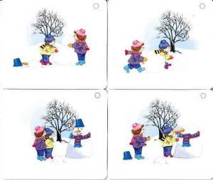 put-the-pictures-in-the-right-order-make-a-snowman