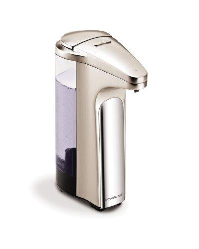 simplehuman Sensor Pump for Soap or Sanitizer, Brushed Nicke $38.61: Soap Dispenser, Brushes Nickel, Soaps Provide, Brushed Nickel, Soaps Pumps, Products, Sensor Pumps, Sensor Soaps, Simplehuman Sensor