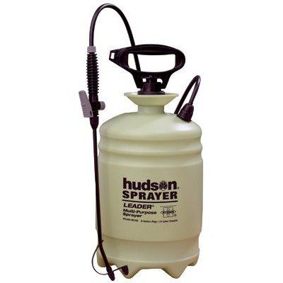 H. D. Hudson - Leader Sprayers Leader 3 Gallon Poly Sprayer: 451-60183 - leader 3 gallon poly sprayer by H. D. Hudson. $37.20. 451-60183 Features: -HPP? high performance pump with comfortable glove-sized handle.-Ideal for light duty or occasional use.-Poly TOV? thumb-operated shut-off valve.-Stable, 6-foot translucent tank with medium funnel top.-Capacity Vol.: 3 gal [Max].-Extension : 18 in.-Extension Type: Flexible Poly.-Pump Type: Plastic.-Handle Type: D-Handle...