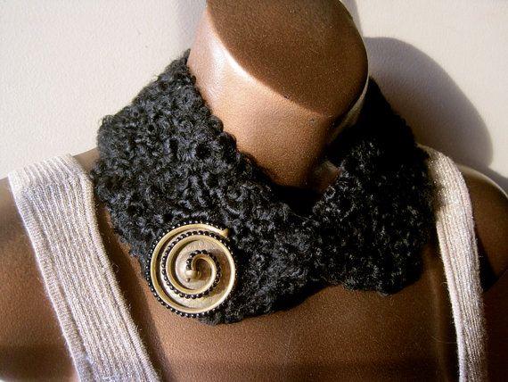 Persian Lamb Collar NECKPIECE and Signed Fur by MyWanderingEye, $85.00