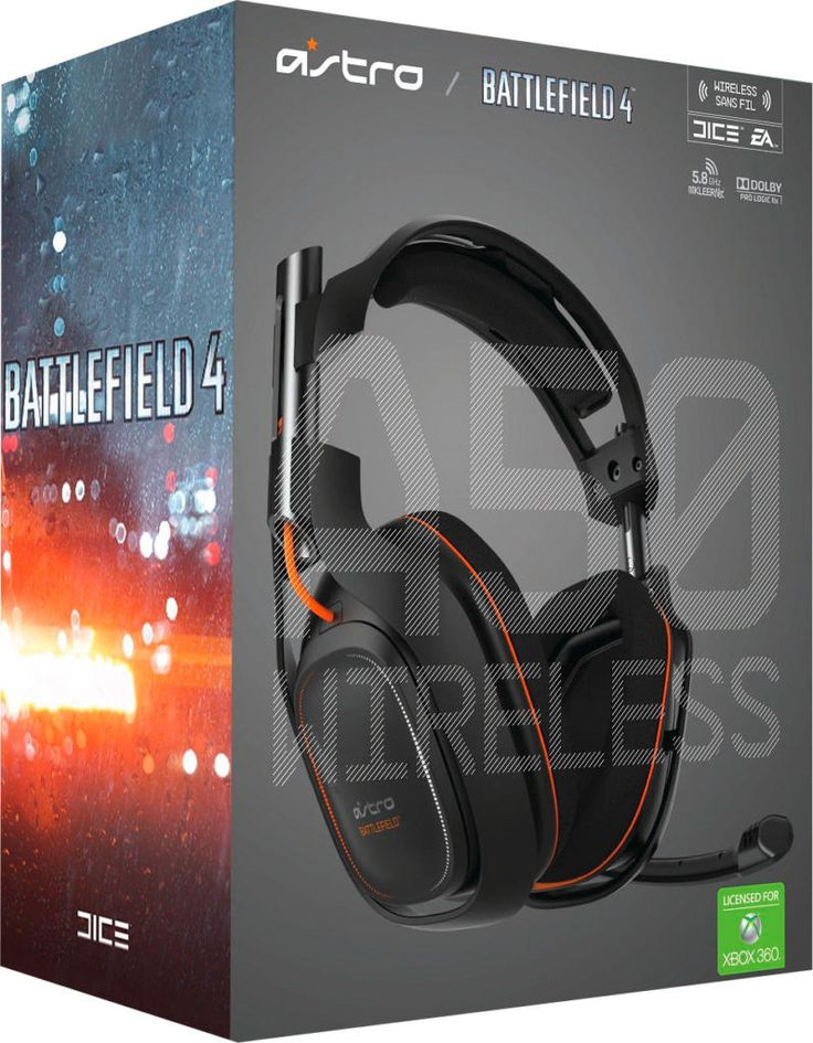 Casque Astro A50 Wireless + MixAmp TX Dolby 7.1 Battlefield 4 - Acheter vendre sur Référence Gaming
