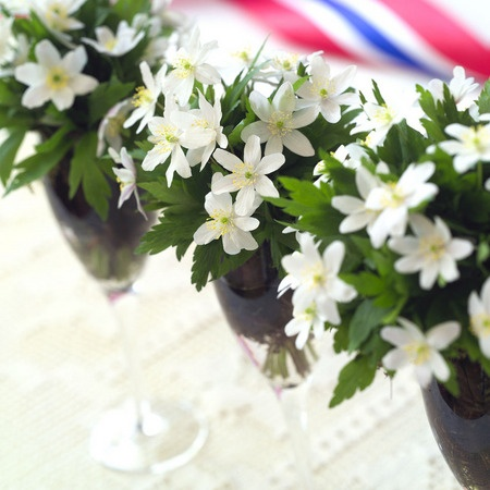 17.mai festbord - Interflora blomster