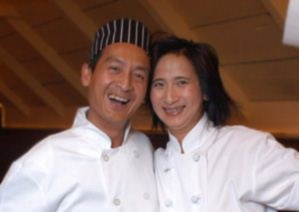 """Dennis and Ruby from the Mekong (Ottawa) Love the """"Five spice shrimp""""!"""