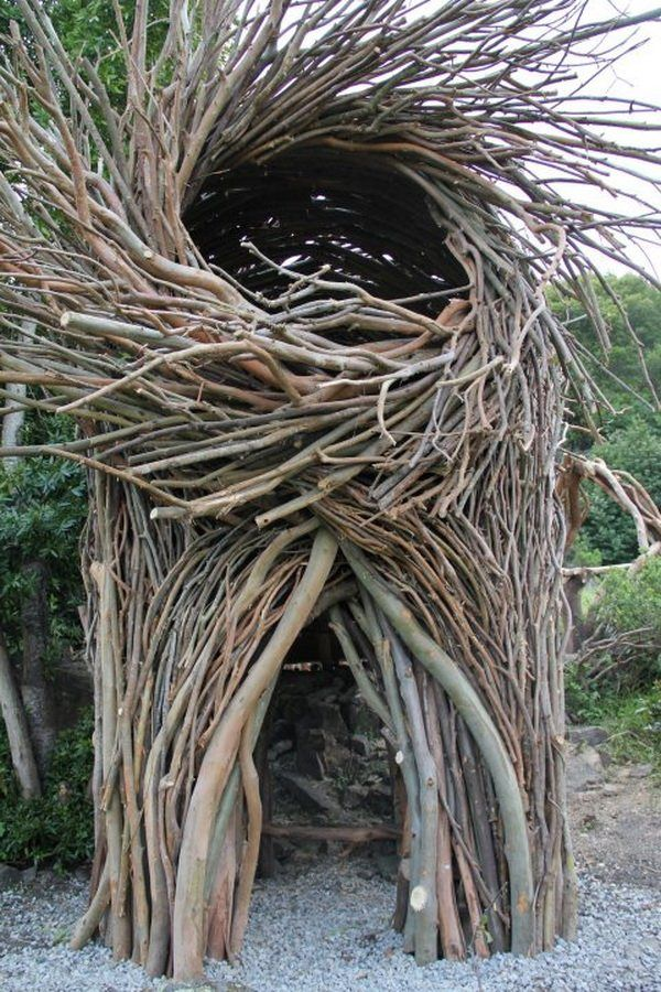 Jayson Fann Spirit Nests 10 #Playspace #Nest> I am so going to make one of these in my Grandparents yard!!!