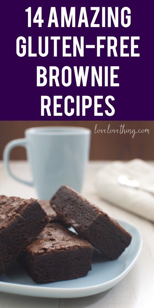 14 Amazing gluten-free brownie recipes to try out!!!
