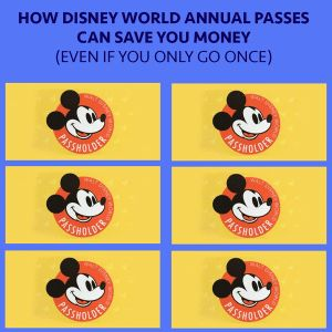 It's true that it makes sense for anybody going on more than 1 trip in a year to get an Annual Pass, but it also often makes sense for others. Here's how.