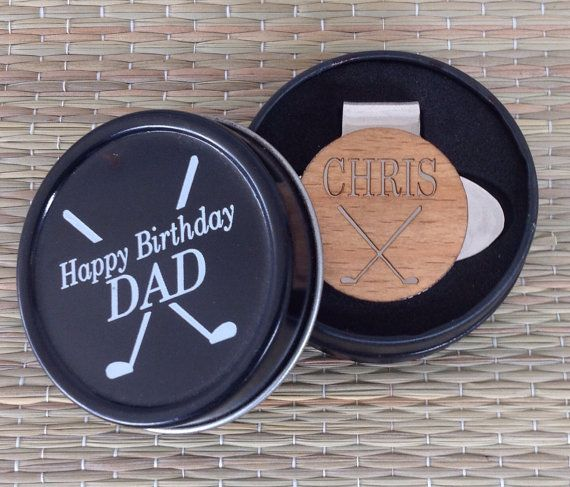 Personalized Birthday Gift for Dad  Custom Wood Golf by woodulike, $24.99