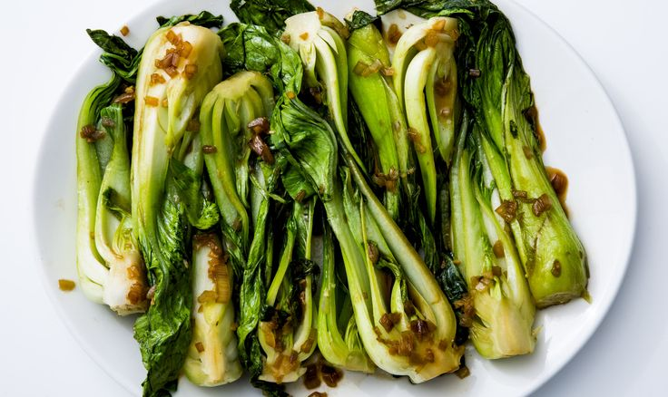 how to cook bok choy and green beans