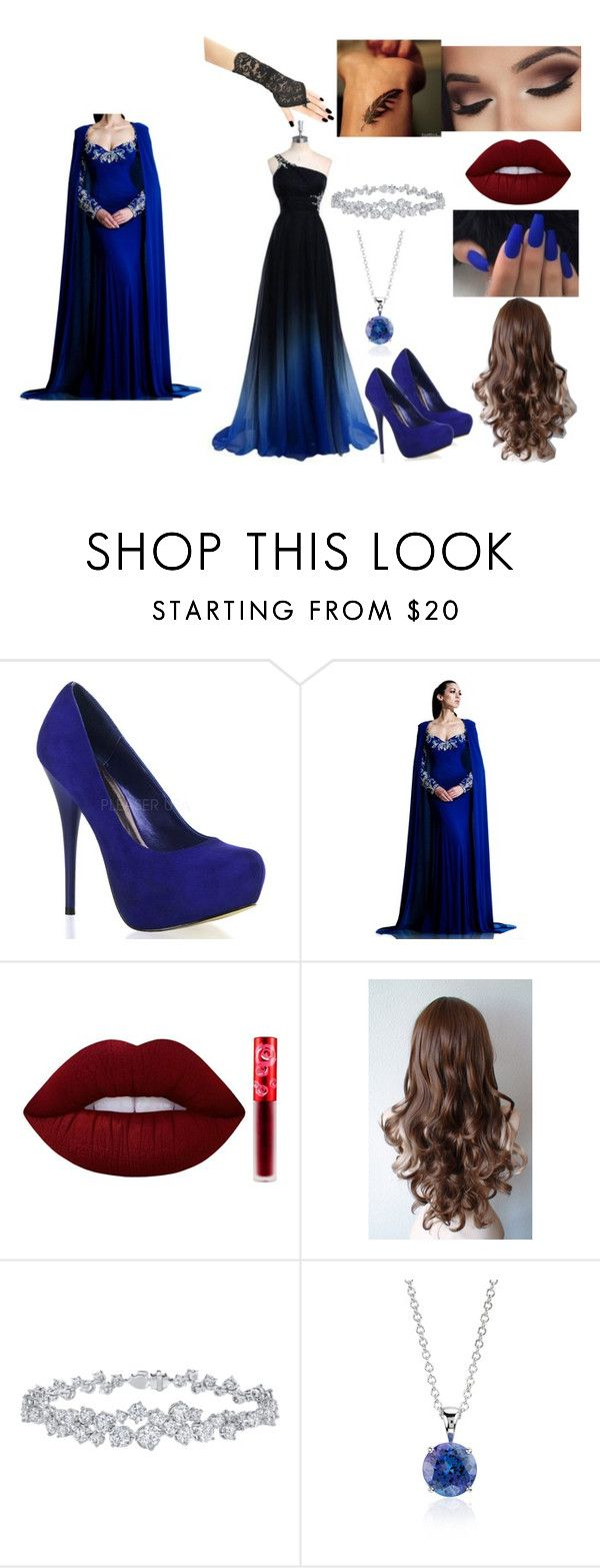 """Untitled #34"" by mia-wilson1704 ❤ liked on Polyvore featuring Johnathan Kayne, Lime Crime, Harry Winston and Blue Nile"