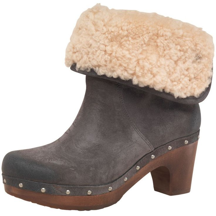 Ugg Womens Lynnea Stud Boots Charcoal