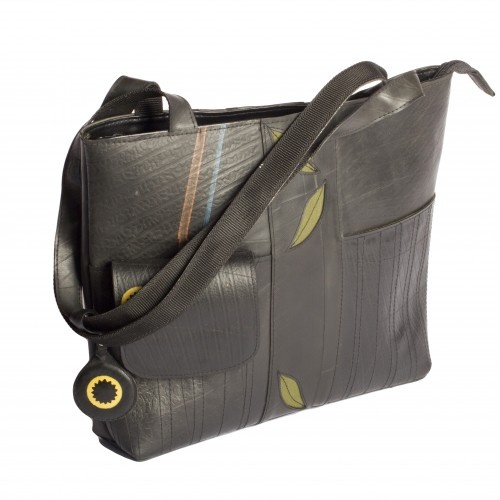 Recycled Tire Handbag From Greenheart Fair Trade Retire Rubberofftheroad Retired Fashion Pinterest Recycle Tires And Tired