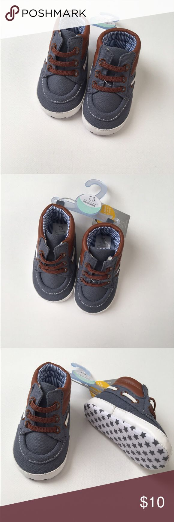 Boys crib shoes Size 9-12 mo. Crib shoes! Adorable casual dress shoe! Brand new! Primark Shoes Baby & Walker