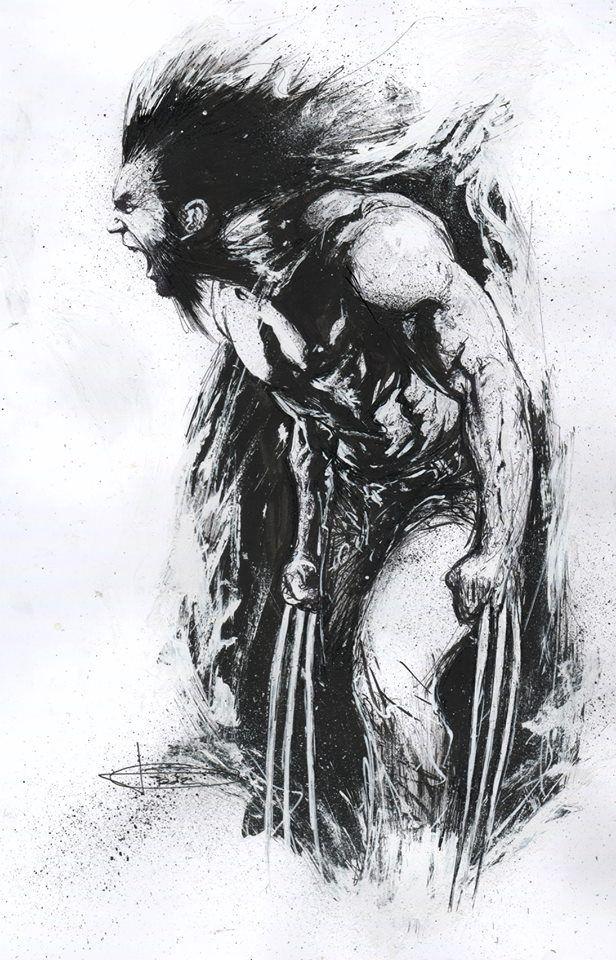 Wolverine by Gabriele Dell'Otto http://ebay.to/1MkkL4b
