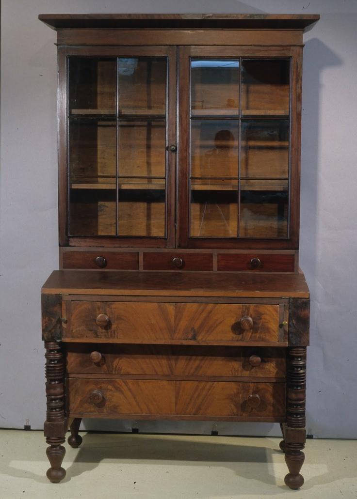 cabinetmaker John Marshall built this secretary in Royalton, Vt. Between 1820 and 1835