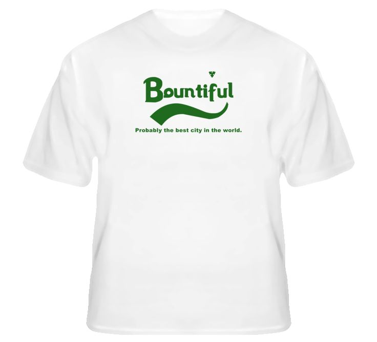 Bountiful Probably The Best City In The World Carlsberg Beer Slogan T Shirt