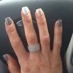 christina el moussa - always love her nails! want mine done ;)