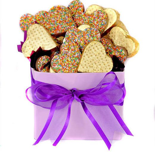 The 25 best easter hampers ideas on pinterest birthday hampers happy heart easter hamper easter coupons gifts choclate negle Images
