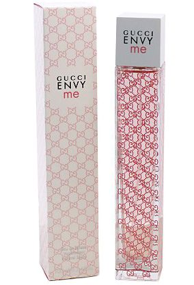 Envy Me by Gucci- My go to perfume! It smells heavenly and I'm always getting compliments on it.