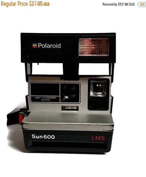 Polaroid Sun 600 LMS  Light Management System   Working