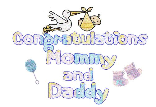 congratulations mommy  u0026 daddy
