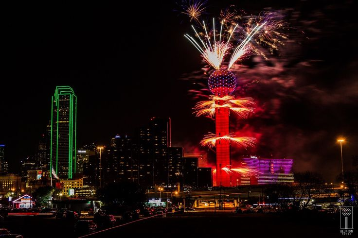 Reunion Tower and Hunt Realty are collaborating with AT&T