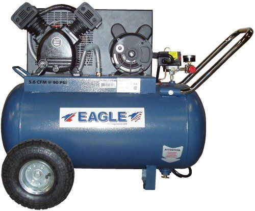 Special Offers - Eagle P3120H1-CC 20-Gallon 125 PSI Max PSI Electric Compressor - In stock & Free Shipping. You can save more money! Check It (January 02 2017 at 08:35PM) >> http://chainsawusa.net/eagle-p3120h1-cc-20-gallon-125-psi-max-psi-electric-compressor/