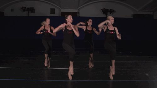writing arm movements in dance