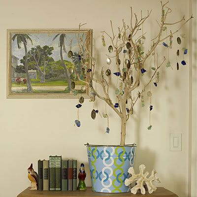 Shell Crafts ideas: Holiday, Beaches, Beach Craft, Beach House, Beachcomber S Tree, Seashell, Beachcombers Tree, Christmas Trees