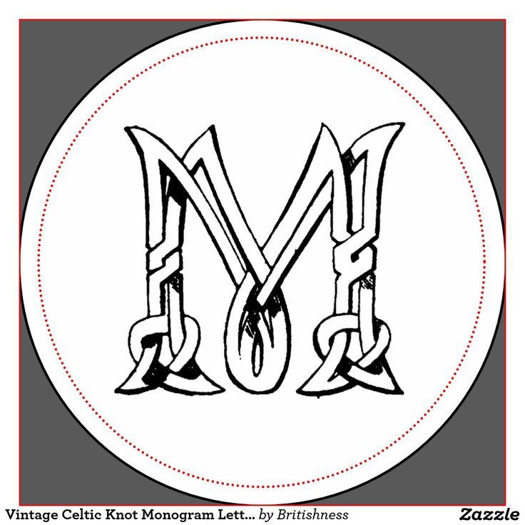 Best celtic knot alphabet letter stencils images on