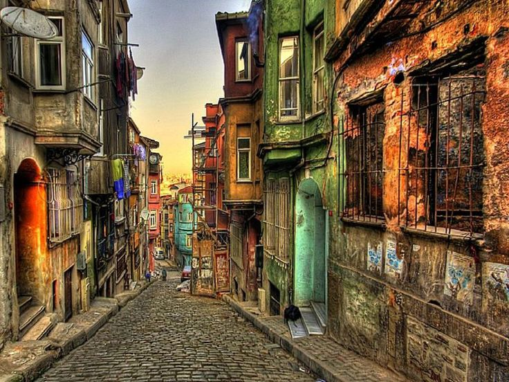 Balat Historical Street, Istanbul