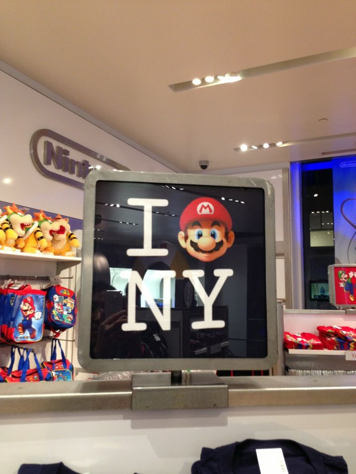 Nintendo World in New York, NY