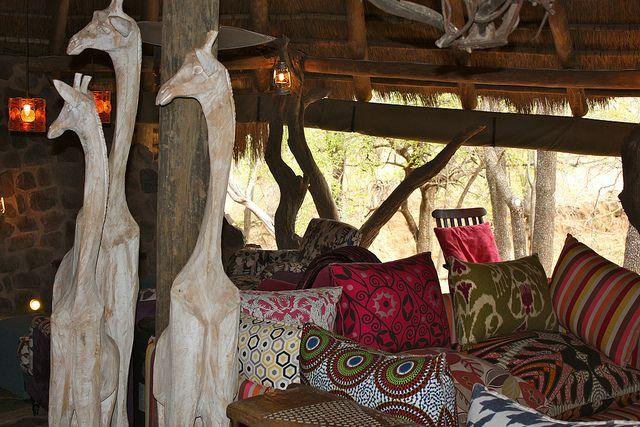 Safari lodge Zuid-Afrika