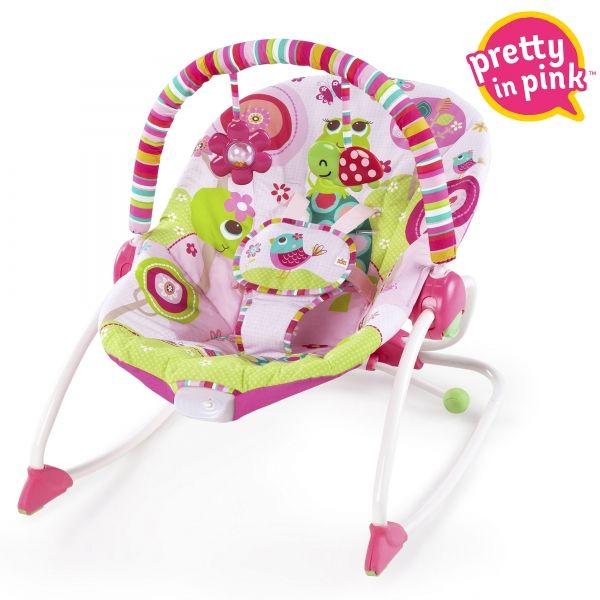 Rasberrry Garden rocker para bebé Bright Starts