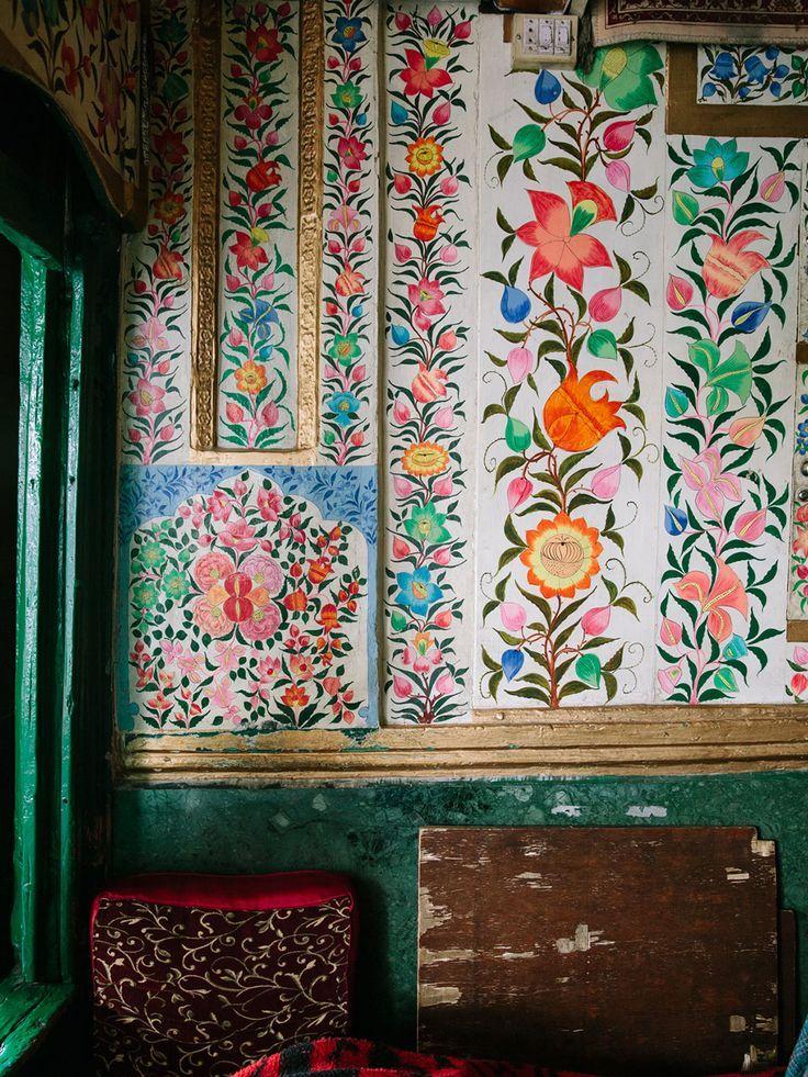 Peintures d'une demeure au Kashmir -★-