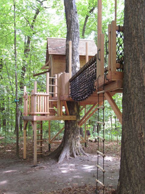 Barbara Butler-Extraordinary Play Structures for Kids -Minnesota Treehouse