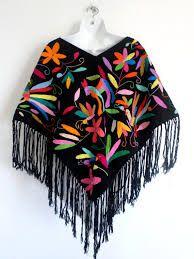 Resultado de imagen para ponchos bordados a mano