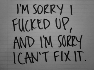 regret and sorry quotes | Home - Ask - Submit - Theme
