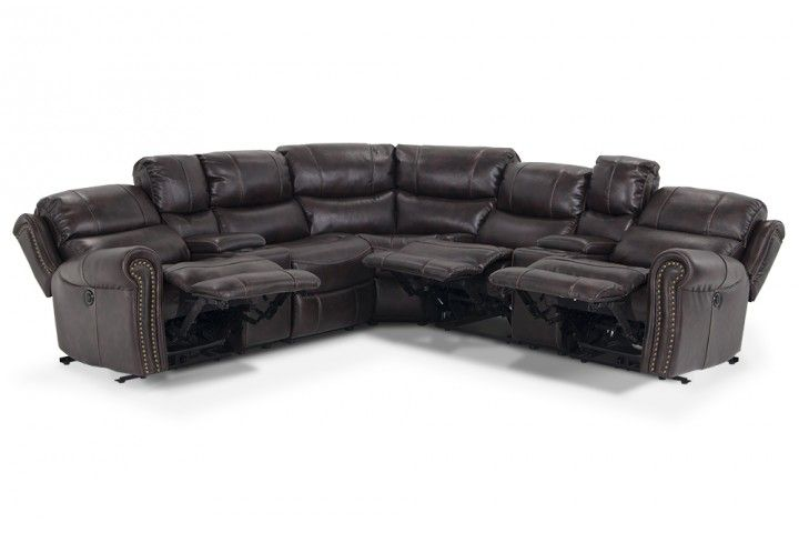 Lannister 7 Piece Power Reclining Sectional Gome Items