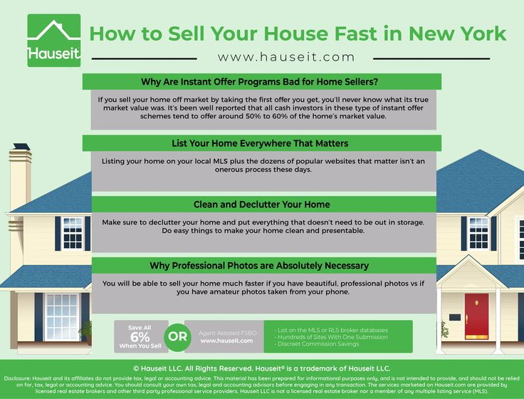 Sell Your House Fast Nyc Hauseit Sell Your House Fast Selling Your House Things To Sell
