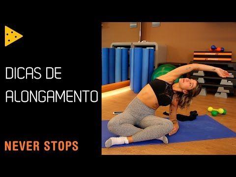DICAS DE ALONGAMENTO PARA O PRÉ E PÓS TREINO - YouTube