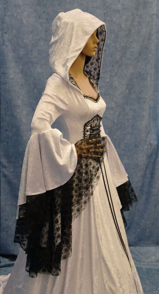 Amazing gothic robe