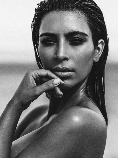 Kim Kardashian for California Style September 2015