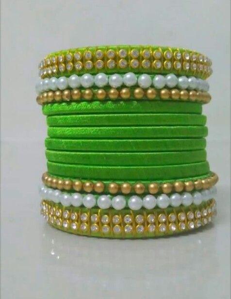 Silk bangles
