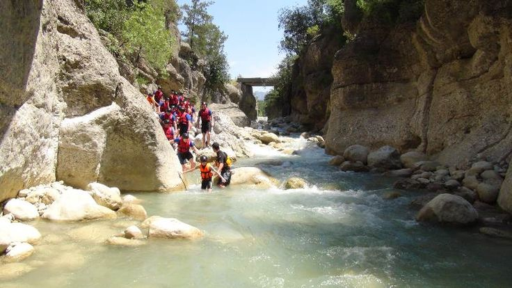 Rafting and Canyoning tours Antalya