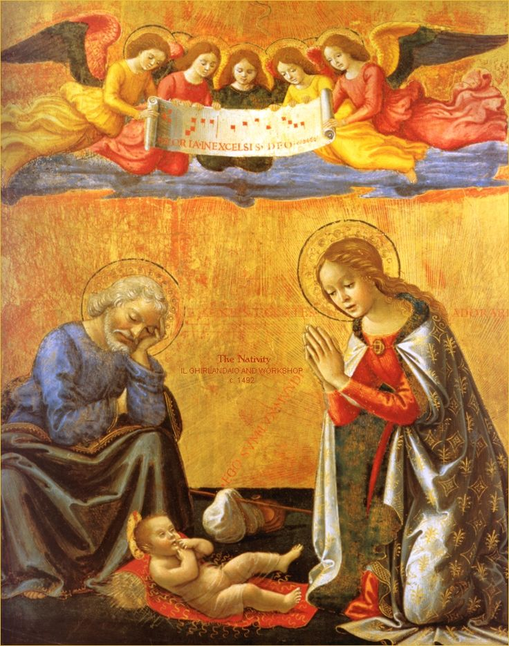The Nativity, Workshop of Ghirlandaio