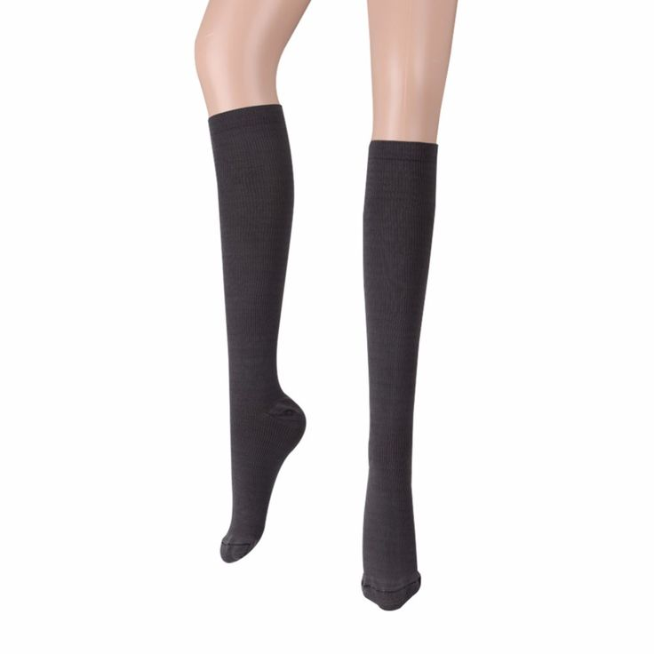 1 Pair Men Women's Anti-Fatigue Knee High Stockings Compression Leg Support #Affiliate