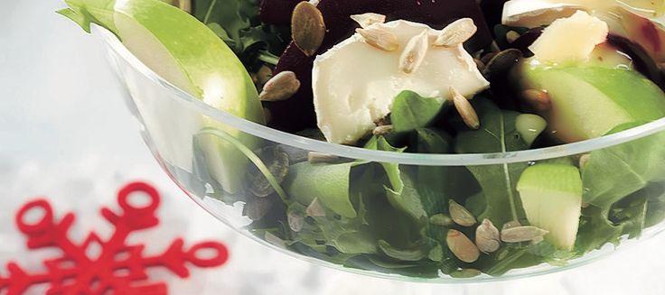 Punajuuri-vuohenjuustosalaatti | Pääruoat | Reseptit – K-Ruoka